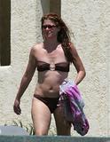 Debra Messing | Bikini Candids from 2005 | 20 oldies (incl. some nipslip)