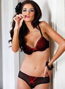 Carla Ossa - Bonprix Push-up & Padded Lingerie Shoot 2012