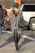 Dakota Fanning Out & About in New York 11/28/12