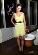 Leighton Meester at Vera Wang's Lovestruck Fragrance Launch in New York City on August 24, 2011