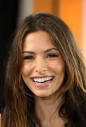 Sarah Shahi - on the set of Extra at The Grove in LA 12/03/12