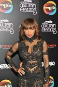 Elise Neal @ The 2010 Soul Train Awards Arrivals (C-Throughs!!)